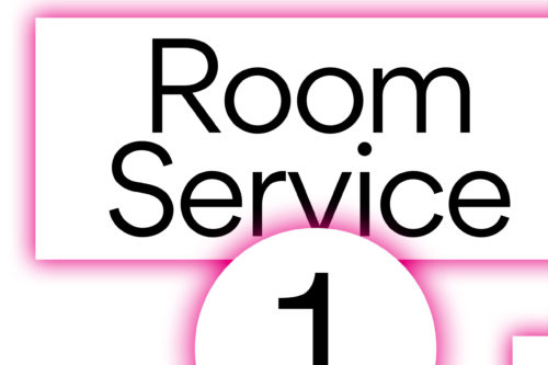 Open project: Room Service 1