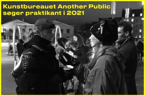Open project: Vi søger praktikant i 2021